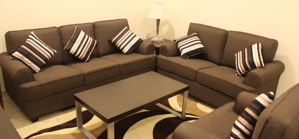 Sofa Set in Fabric GC406